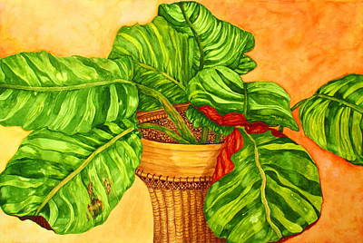 Painting - Prayer Plant by Ashley Goforth