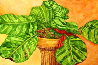 Painting - Prayer Plant by Ashley Goforth