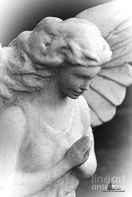 Photograph - Praying Angel by Grace Grogan