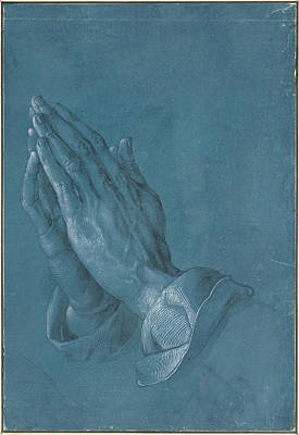 Painting - Praying Hands by Albrecht Durer