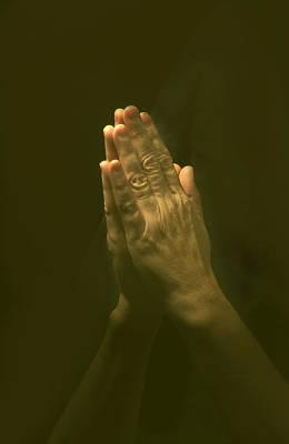 Praying Hands Art Print by Bob Pardue