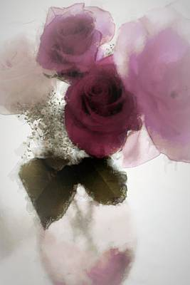 Lilac Photograph - Precious Day by The Art Of Marilyn Ridoutt-Greene