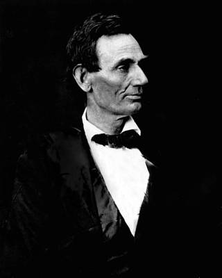 Emancipation Photograph - President Abraham Lincoln by Retro Images Archive