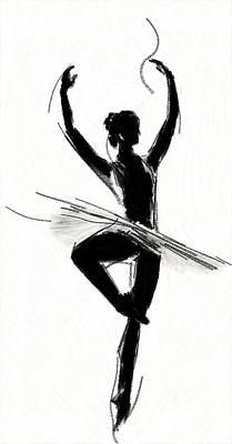 Ballet Dancers Painting - Prima Donna by Steve K