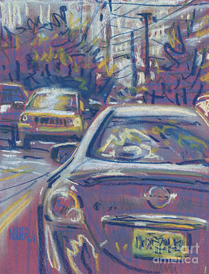 Painting - Primary Parking by Donald Maier