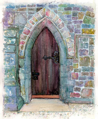 Painting - Prince Door by Patsi Prince
