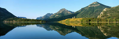 Prince Of Wales Hotel In Waterton Lakes Print by Panoramic Images
