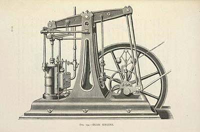 Machinery Photograph - Printing Machine by British Library