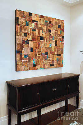 Abstract Art Large Scale Mixed Media - Private Commission by Adam Colangelo