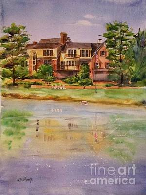 Painting - Private Residence Commission by J Worthington Watercolors