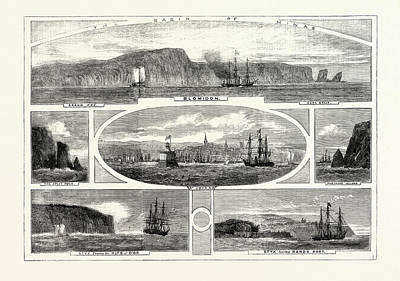 Progress Of The Prince Of Wales In British North America Art Print by Canadian School