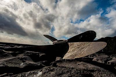 Photograph - Propeller On The Beach by Joseph Amaral