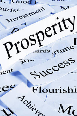 Photograph - Prosperity Concept by Colin and Linda McKie