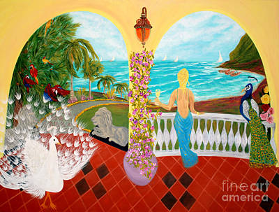 Art Print featuring the painting Prosperity. Inspirations Collection. by Oksana Semenchenko