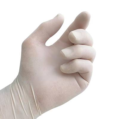 Protective Latex Glove Art Print