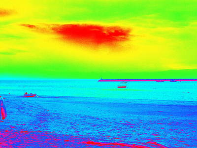 Provincetown Harbor Art Print by Mike McCool