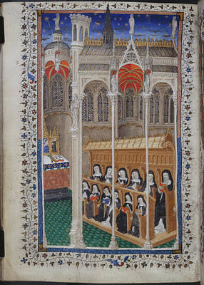 Clergy Photograph - Psalter Of Henry Vi by British Library