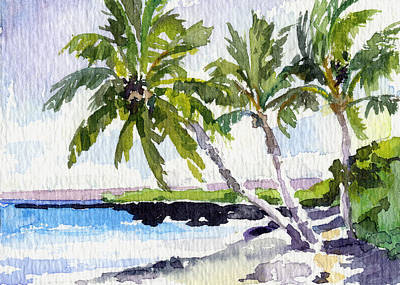 Haleiwa Painting - Puako Path by Stacy Vosberg