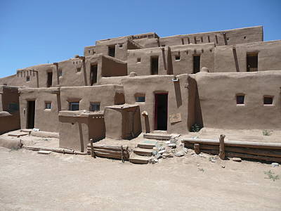 Photograph - Pueblo De Taos by Keith McGill