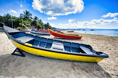 Aguadilla Photograph - Puerto Rican Fishing Boats by George Oze