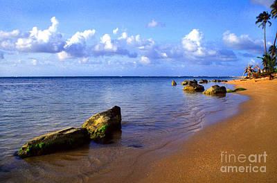 Puerto Rico Rio Grande Shoreline Print by Thomas R Fletcher