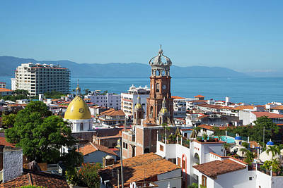 Puerto Vallarta Photograph - Puerto Vallarta, Jalisco, Mexico by Douglas Peebles