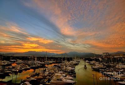Photograph - Puerto Vallarta Marina by Nicola Fiscarelli