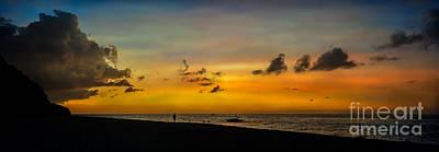 Photograph - Puka Beach Sunset by Adrian Evans