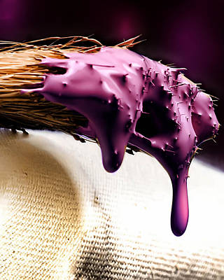 Photograph - Purple Drip by Camille Lopez