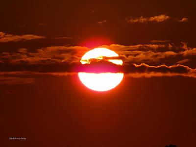 Photograph - Purple Sunset by Nick Kirby