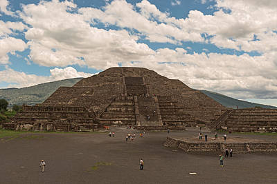 Photograph - Pyramid Of The Sun by Marek Poplawski