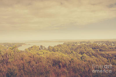 Photograph - Quaint Seaside Town Of Strahan In Tasmania by Jorgo Photography - Wall Art Gallery