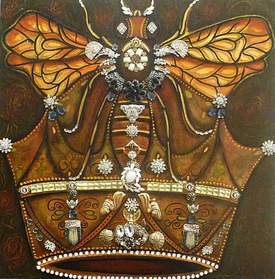 Queen Bee Chronicles Art Print by Marie Howell Gallery
