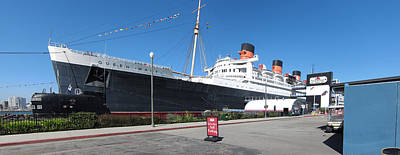 Queen Mary - 12121 Print by DC Photographer