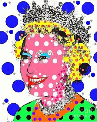 Digital Art - Queen by Ricky Sencion