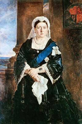 Victoria Painting - Queen Victoria Of England (1819-1901) by Granger
