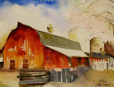 Quiet Red Barn Art Print