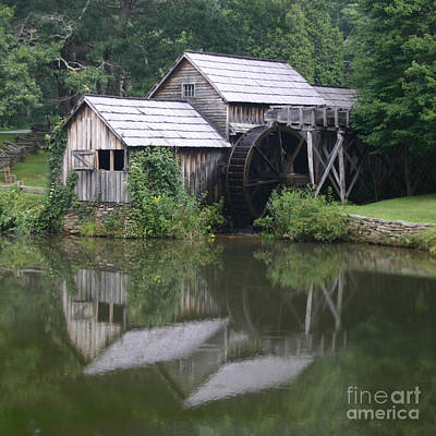 Art Print featuring the photograph Quiet Reflection by ELDavis Photography