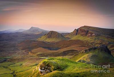 Quiraing Sunrise Art Print