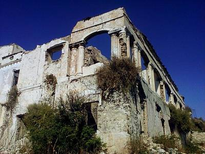 Photograph - Ruins by Salman Ravish