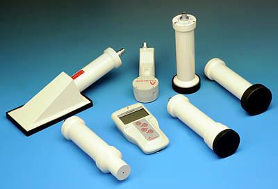 Radiation Survey Meter Print by Public Health England
