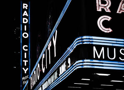 Photograph - Radio City by Michael Yeager
