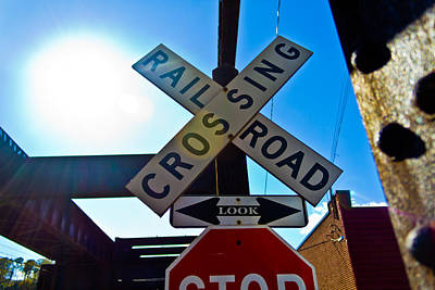 Photograph - Railroad Crossing by Jonny D