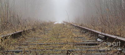 Photograph - Railway by France Laliberte