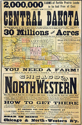 Destiny Painting - Railway Poster, 1870s by Granger