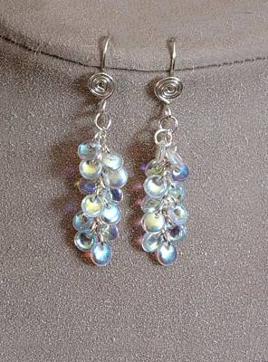 Lampwork Jewelry - Rain Drops by Jan Brieger-Scranton