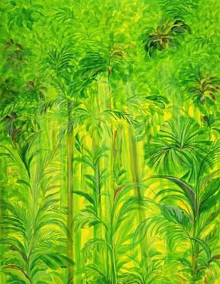 Rain Forest Malaysia Art Print by Laila Shawa