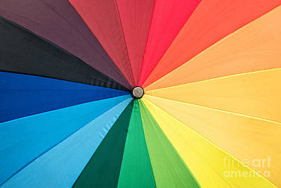 Rainbow Art Print by Delphimages Photo Creations