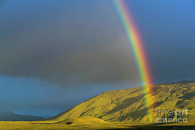 Photograph - Rainbow Los Glaciares National Park by Yva Momatiuk John Eastcott