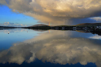 Photograph - Rainbow Over Dingle by Barbara Walsh